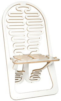 lumberest chair by gregg fleishman