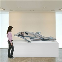 <!--61-->dolphin by jeff koons