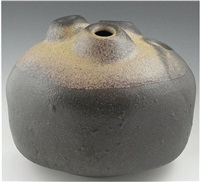 boulder vessel by karen karnes