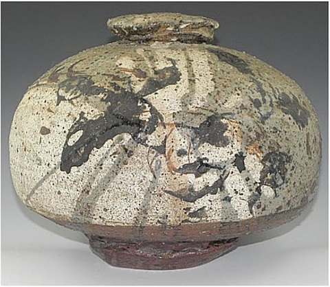 peter voulkos era vase by paul soldner