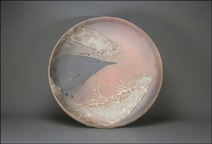 large platter - salmon and raven by frank boyden