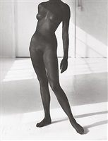 black female figure 2, los angeles by herb ritts