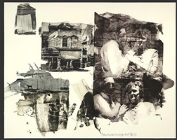 big and little bullys (ruminations) by robert rauschenberg