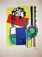 the singer by fernand léger
