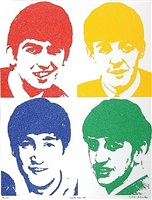 the beatles - love me do by peter blake