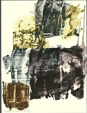 eagle eye (ruminations) by robert rauschenberg