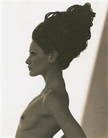 carla bruni 3, point dume by herb ritts