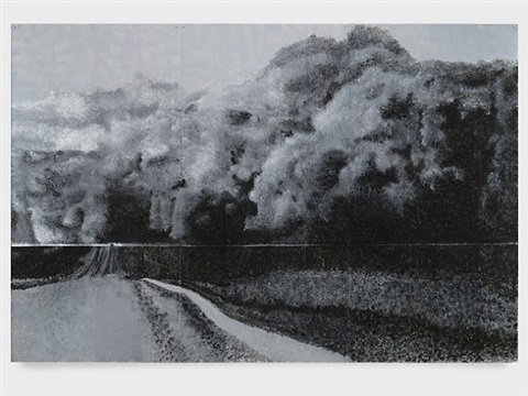 1934 mid-west dust storm by robert morris