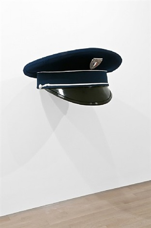 french police cap by erwin wurm