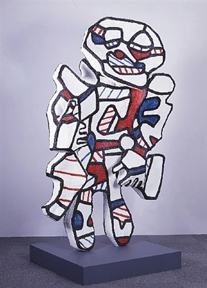 personnage pour washington parade by jean dubuffet
