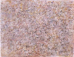 illuminated plane by mark tobey