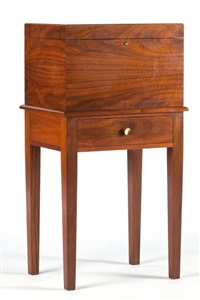 humidor on stand by alfred dunhill