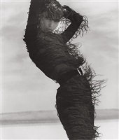christy turlington - versace 6, el mirage by herb ritts