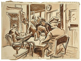 the revolution in pengelly hall, flint's smolny institute by thomas hart benton