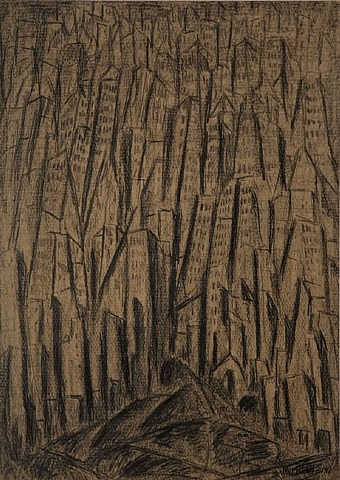 cityscape by abraham walkowitz