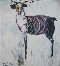 venao hambriento (sold) by carlos quintana