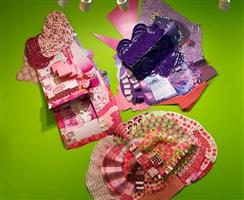 love, american style, pink by lisa hoke