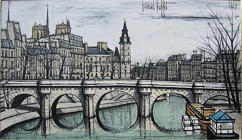 bernard buffet from paris to provence by bernard buffet