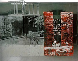 pegasits, from roci usa (wax fire works) by robert rauschenberg
