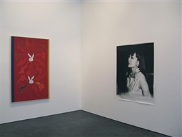 exhibition view (philip taaffe/nobuyoshi araki)
