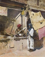 shop front, ahmedabad by edwin lord weeks