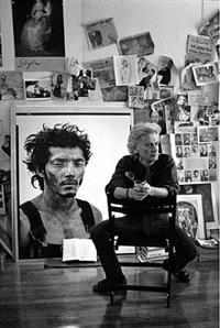 richard avedon, new york, ny 1994 by john loengard