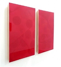 something to me (diptych) by jennifer faist