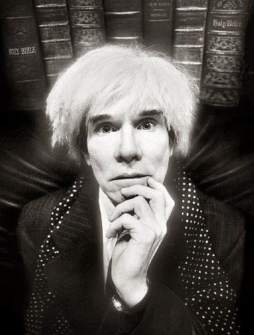 warhol, last sitting by david lachapelle
