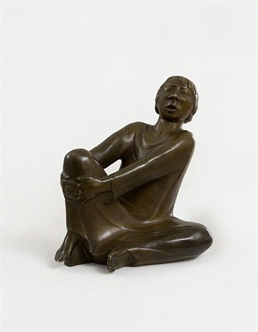 der singende mann / the singing man by ernst barlach