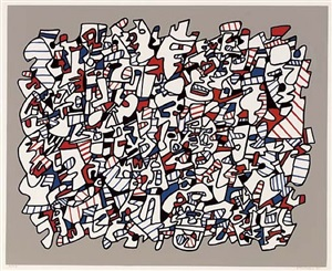 ontogenese by jean dubuffet