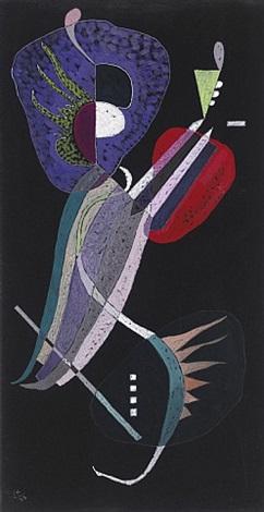 la resolution (sold) by wassily kandinsky