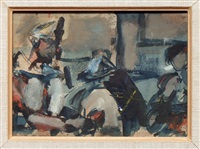 parade (esquisse) by georges rouault
