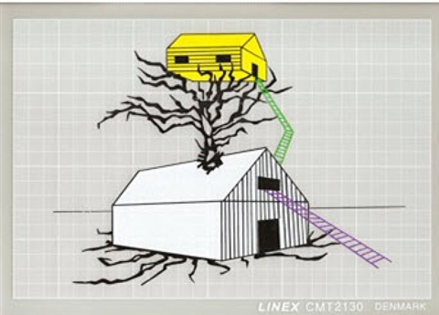 casa en arbol / the tree house by carlos garaicoa