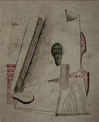 kubistische komposition by jankel adler