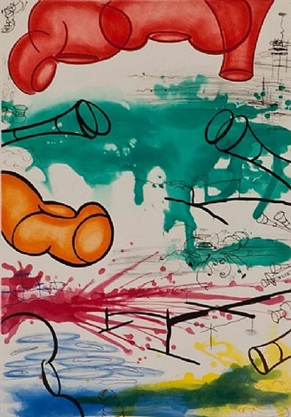 untitled #2 by carroll dunham