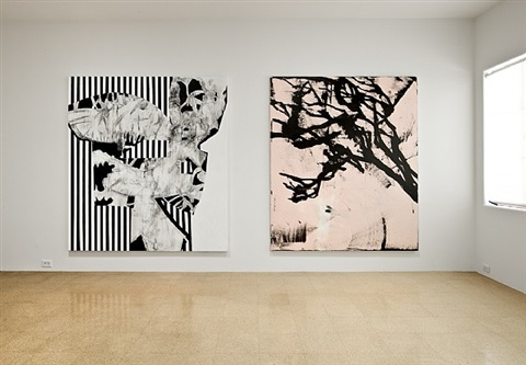 installation view by charline von heyl