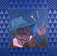 head (hat with brush) by peter heinemann