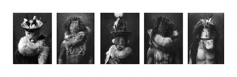 after edward curtis: 1-5 by sherrie levine