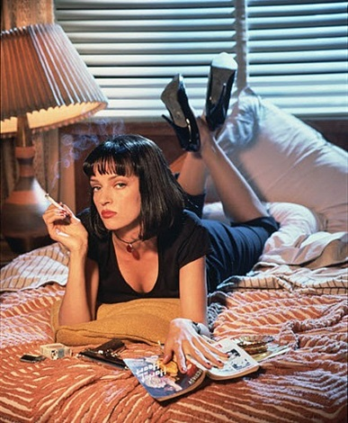 uma thurman / pulp fiction, 1994 by firooz zahedi
