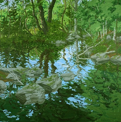 maine woodland by neil welliver