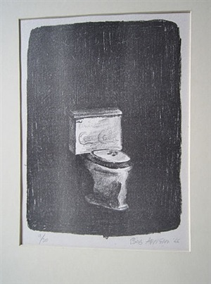 coca-cola toilet by robert arneson