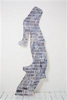 wall #6 (thunder) by johannes vanderbeek