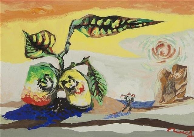 l'eau, le fruit et l'homme by jean lurçat