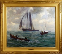 fishing the grand banks by emile albert gruppe