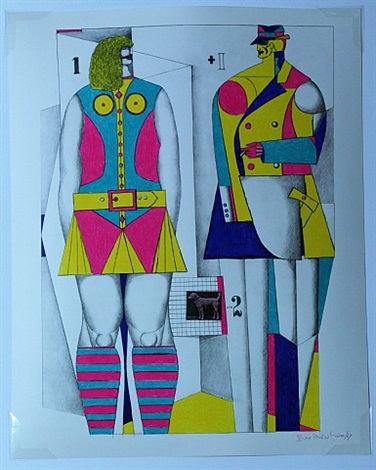 1+1-2 by richard lindner