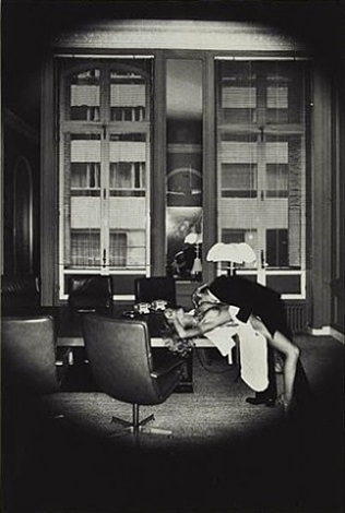 office love, paris by helmut newton