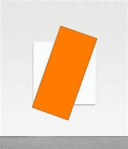 orange diagonal by ellsworth kelly