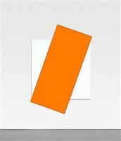 orange diagonal by ellsworth kelly