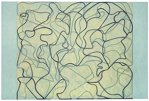 first letter by brice marden
