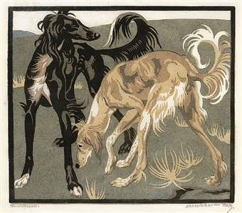 persische hunde by norbertine bresslern-roth